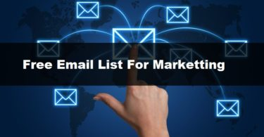 free email list for marketing download