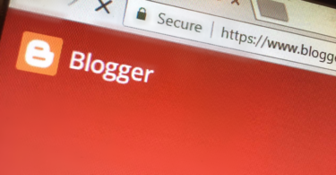 create a professional blogger blog