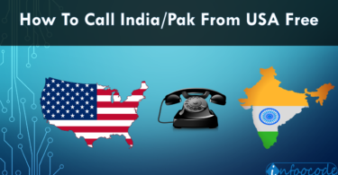 call india pak from usa free