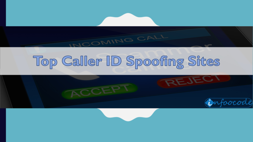 caller id spoofing sites