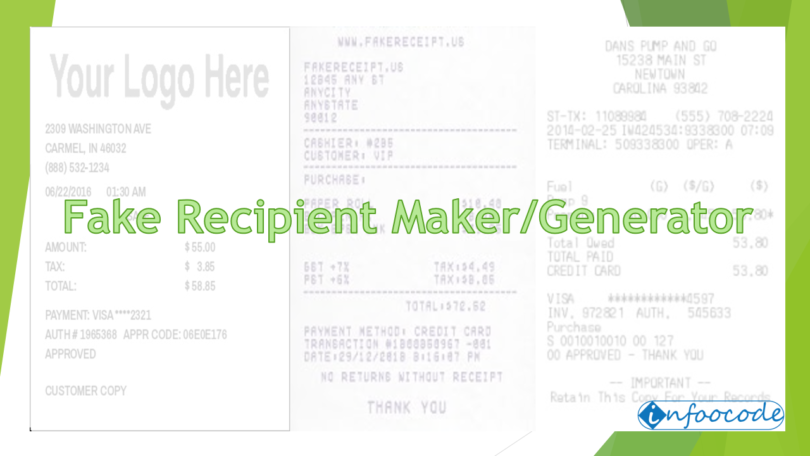 fake receipt makergenerator top 10 tools - Fake Receipt Maker