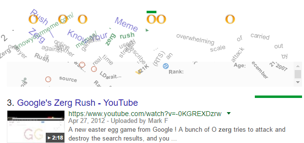 google zerg rush game