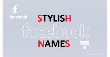 Stylish Facebook name list 2017