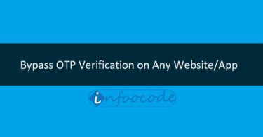 BYpass OTP verification on any website