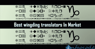 Best wingding translators In Market