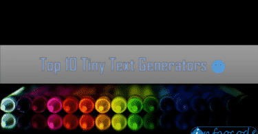 Tiny Text Generators