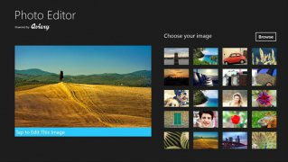 Aviary Photo Editor for Windows effects