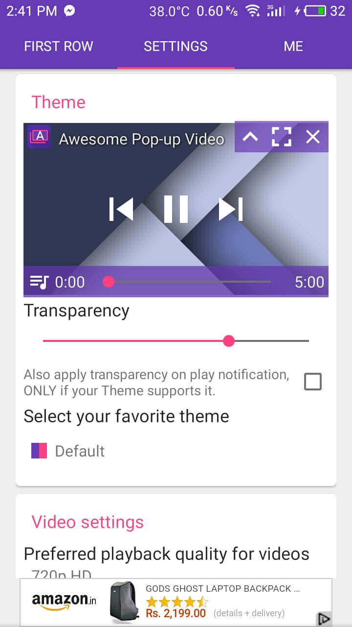 Best Xposed modules awesome pop up video