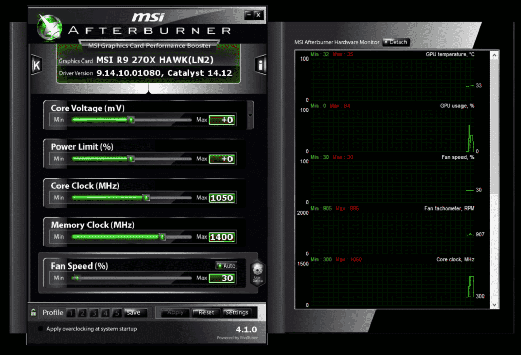 Tools to Stress Test Your PC MSI-Afterburner