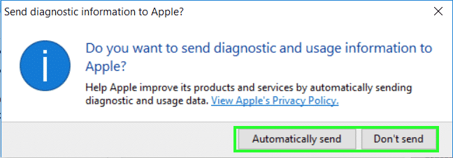 iCloud for windows 10 step 8