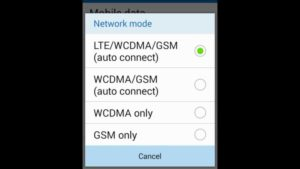 Android-mobile-network